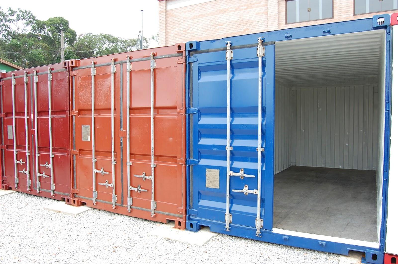 Guarda Volumes Visauto Locações #2763A4 1600x1061 Banheiro De Container